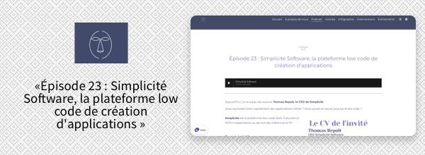 Podcast : La Robe Numérique et Simplicité