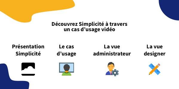 Nouvelles vidéos de démonstration de la plateforme Simplicité